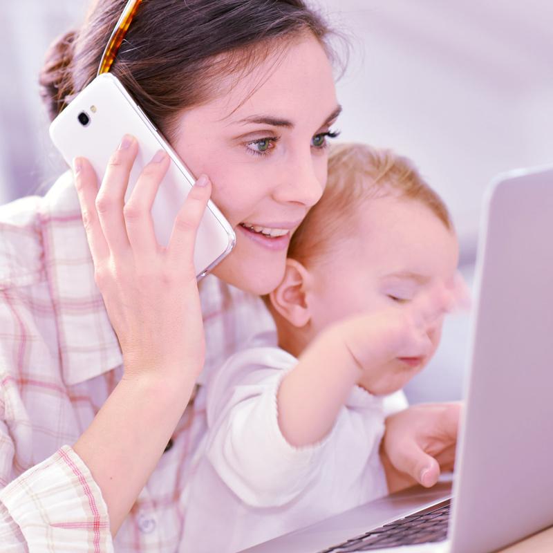 Maman et entrepreneuse